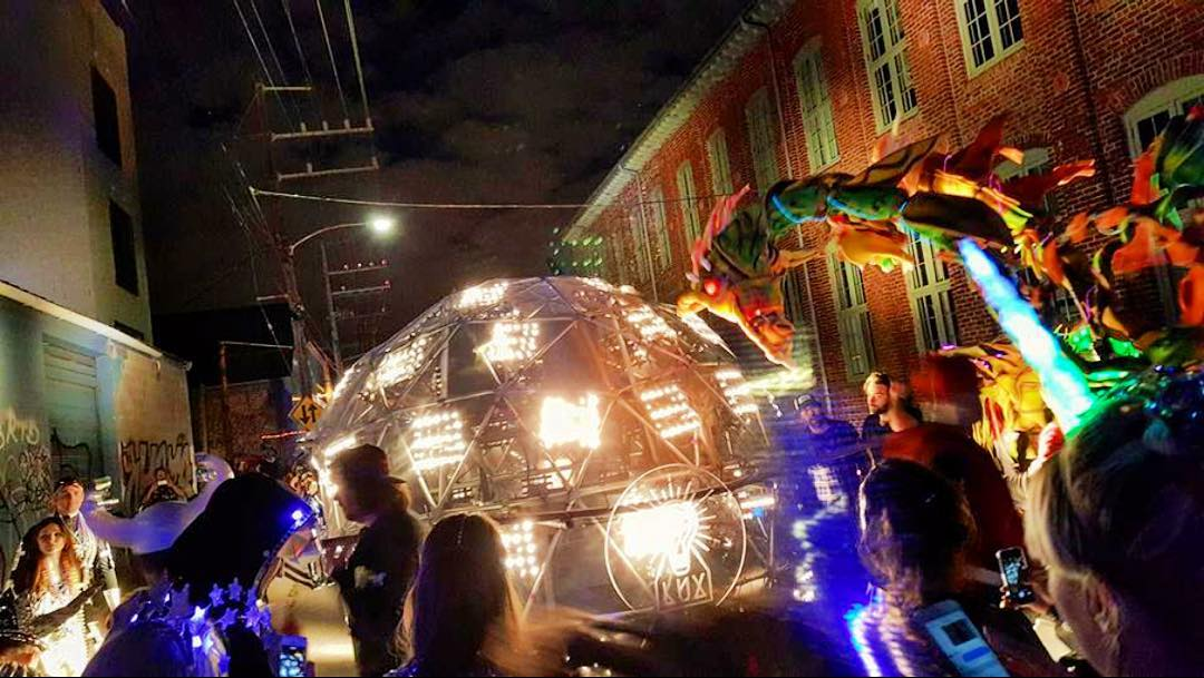 Krewe de LUX Floats