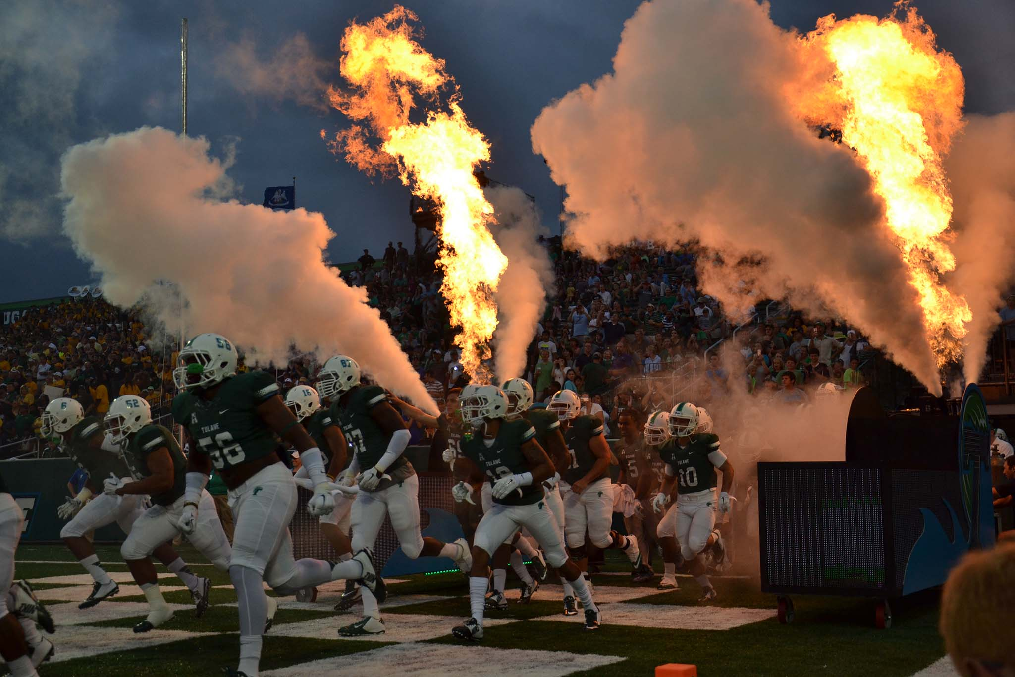 Tulane football sport introduction