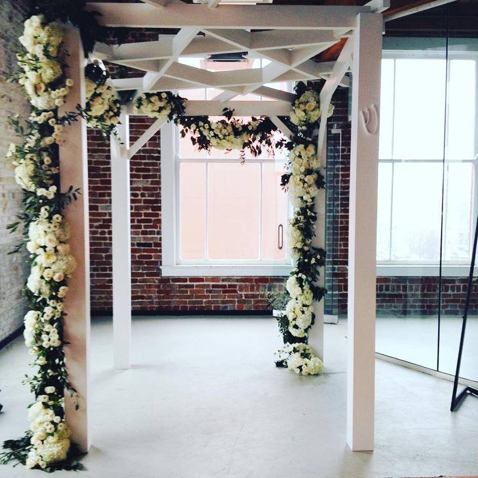 Custom Chuppah for a wedding