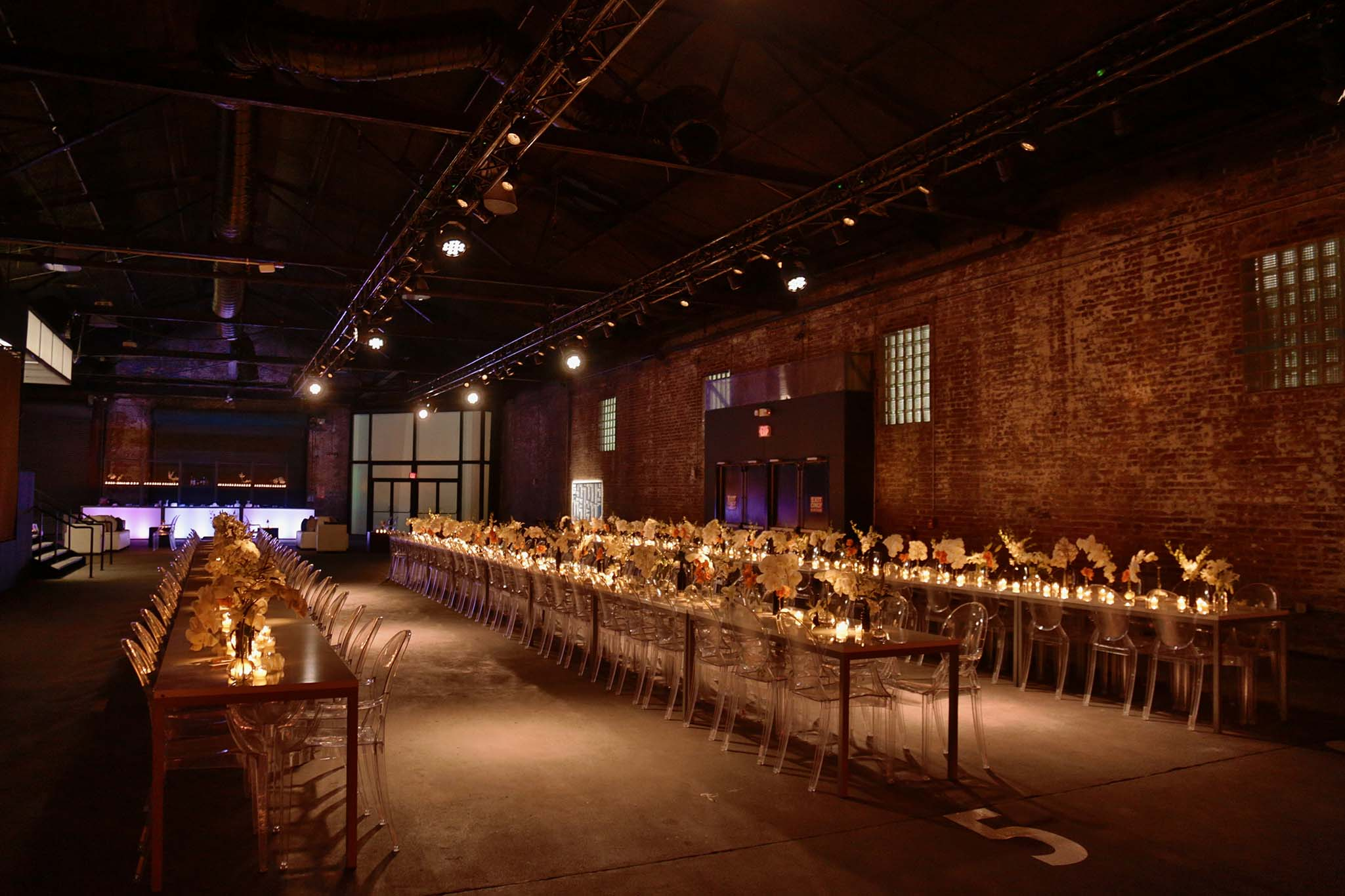 Industrial wedding at the CAC New Orleans