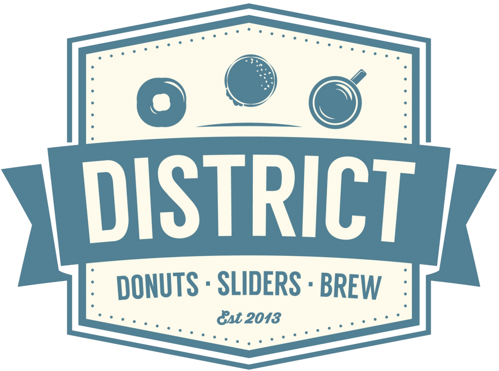 District Donuts logo