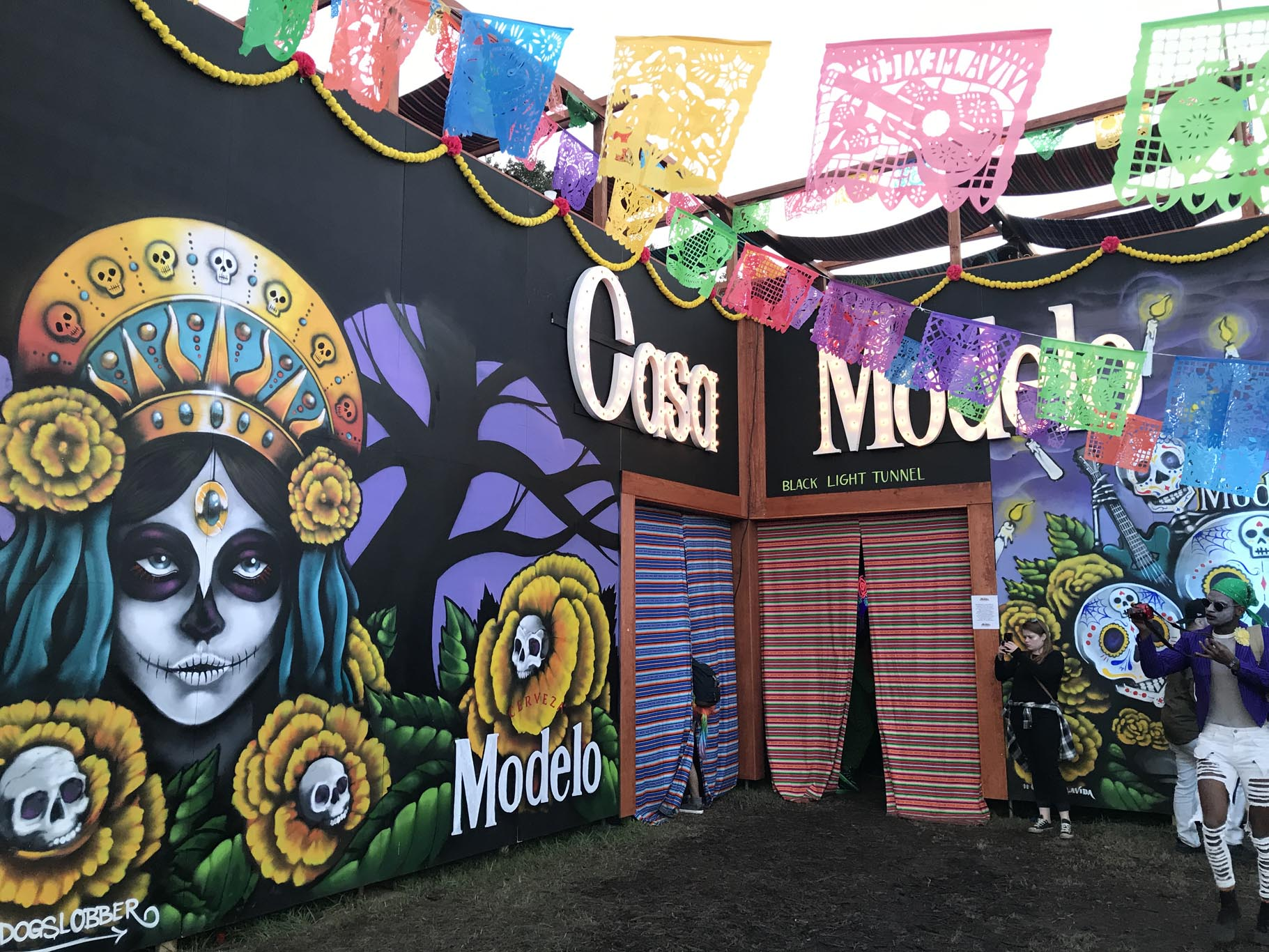 Casa Modelo at Voodoo Music Festival 2017